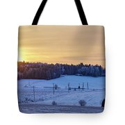 Mihari Sunset Tote Bag