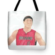 Mike Bibby Tote Bag
