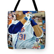 Mike Piazza Tote Bag