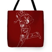 Mike Trout Home Run Trot Tote Bag