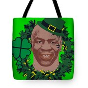 Mike Tyson Funny St. Patrick's Day Design Kith Me I'm Irith Tote Bag