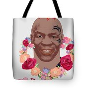 Mike Tyson Inspired Valentines Happy Valentine'th Day  Tote Bag