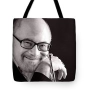 Mike Vax Professional Trumpet Player Photographic Print 3760.01 Tote Bag