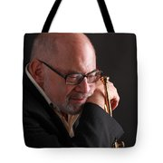 Mike Vax Professional Trumpet Player Photographic Print 3762.02 Tote Bag
