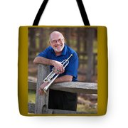 Mike Vax Professional Trumpet Player Photographic Print 3766.02 Tote Bag