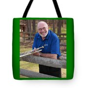Mike Vax Professional Trumpet Player Photographic Print 3767.02 Tote Bag