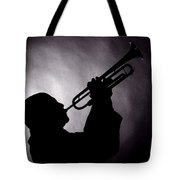 Mike Vax Professional Trumpet Player Photographic Print 3768.02 Tote Bag