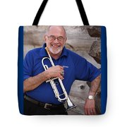 Mike Vax Professional Trumpet Player Photographic Print 3770.02 Tote Bag