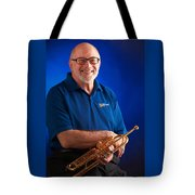 Mike Vax Professional Trumpet Player Photographic Print 3771.02 Tote Bag
