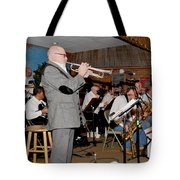 Mike Vax Professional Trumpet Player Photographic Print 3772.02 Tote Bag