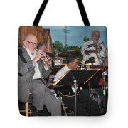 Mike Vax Professional Trumpet Player Photographic Print 3773.02 Tote Bag