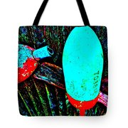 Mike's Art Fence 126 Tote Bag