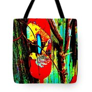 Mike's Art Fence 128 Tote Bag