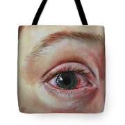 Mike's Cornea Transplant Tote Bag
