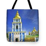 Mikhailovsky Golden-roof Cathedral Tote Bag