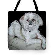 Miki Dog Tote Bag