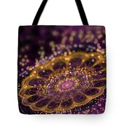 Mikroskopic I Tote Bag by Sandra Hoefer