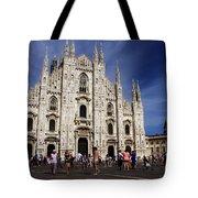 Milan Cathedral Tote Bag