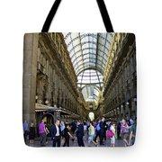 Milan Shopping Mall Tote Bag
