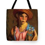 Mildred O Hat Tote Bag