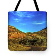 Mile 84 Tote Bag