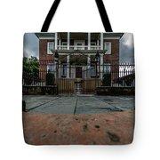 Miles Brewton House Circa 1765 Tote Bag
