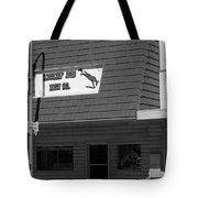 Miles City, Montana - Downtown Bw Tote Bag