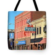 Miles City, Montana - Downtown Casino 2 Tote Bag