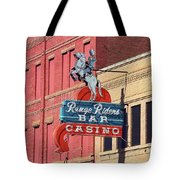Miles City, Montana - Downtown Casino Tote Bag