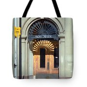 Miles City, Montana - Downtown Entrance Tote Bag