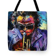 Miles Davis Tote Bag