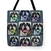 Miles Of Smiles Tote Bag by DigiArt Diaries by Vicky B Fuller