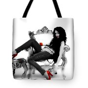 Miley Cyrus Right Here Tote Bag
