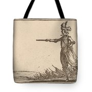 Military Commander On Foot Tote Bag