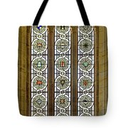 Military Insignia On Stained Glass - Meuse Argonne - East Tote Bag