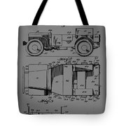 Military Vehicle Body Patent Drawing 1d Tote Bag