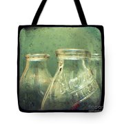 Milk Bottles Tote Bag