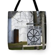 Milk Cans And Buggy Wheels Tote Bag