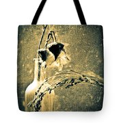 Milk Weed And Hay Tote Bag by Bob Orsillo