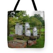 Milkcans Wiltshire England Tote Bag