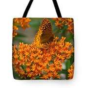 Milkweed And A Frittalary Tote Bag