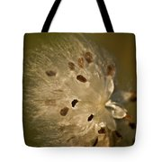Milkweed Blast Tote Bag