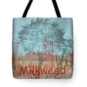 Milkweed Collage Tote Bag