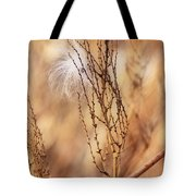 Milkweed In The Breeze Tote Bag