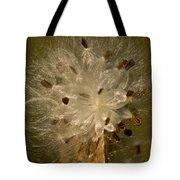 Milkweed Portrait Tote Bag