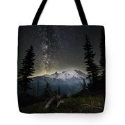 Milky Mountain Tote Bag