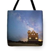Milky Way Above Tote Bag