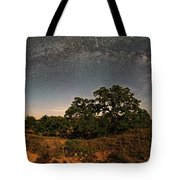 Milky Way Arch Over Enchanted Rock State Natural Area - Fredericksburg Texas Hill Country Tote Bag