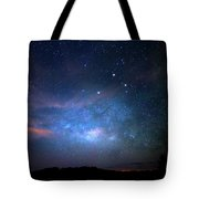 Milky Way At 9 Mile Pond Tote Bag