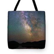 Milky Way Eagle Lake Tote Bag